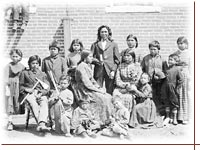 Historically, Indian education through assimilation
