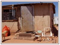 Many Elders living in Kaibeto live in substandard housing, with little access to resources.