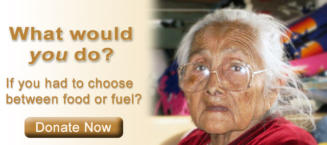 What would you do...  If you had to choose between food and fuel?