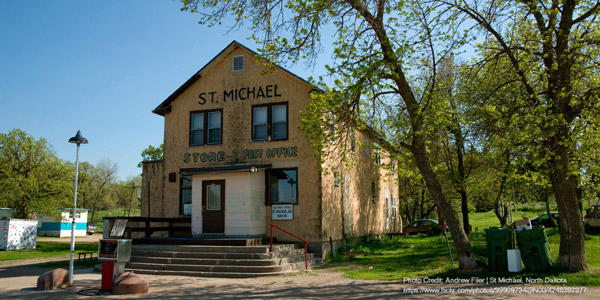 Reservation: Spirit Lake Sioux - General Store