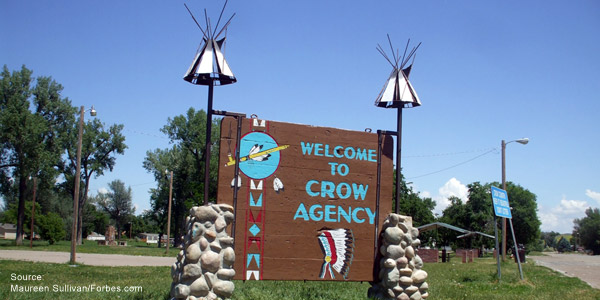 Crow Reservation Montana Map.Montana Crow Reservation Pwna Resources Partnership With Native