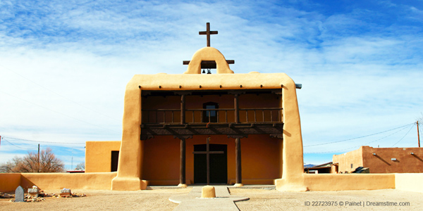 Reservation: Cochiti Pueblo Building