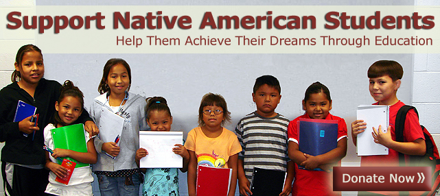 Help Native Students - Donate Now!