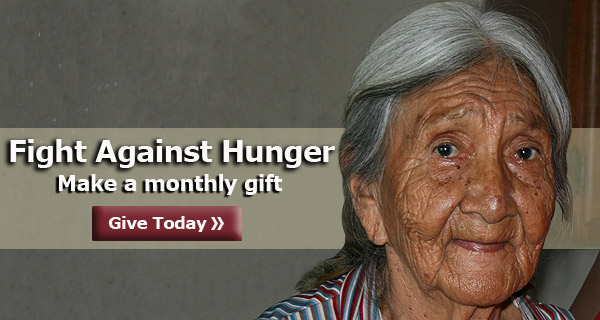 Fight Hunger - Make a Monthly Gift