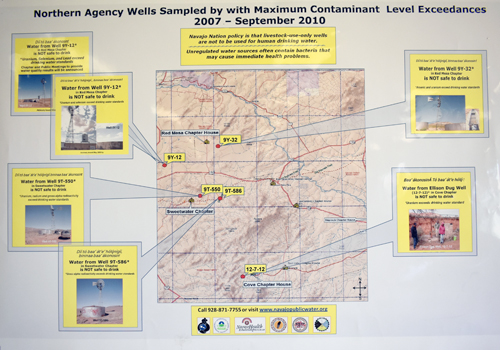 Contaminated Well Water Map