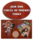 Join our Circle of Friends!  Food insecurity affects the health of many American Indian children and Elders. Your commitment is needed now. We call this group Circle of Friends, because a friend is someone who makes a lasting commitment. Free