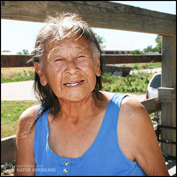 Arlene is an Elder of the Rosebud Sioux Tribe.