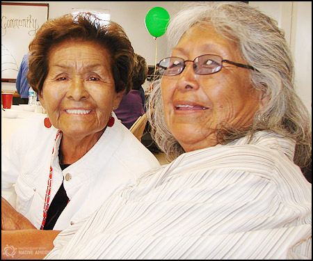 Hopi Elders, Mary and Delphine, from YPV