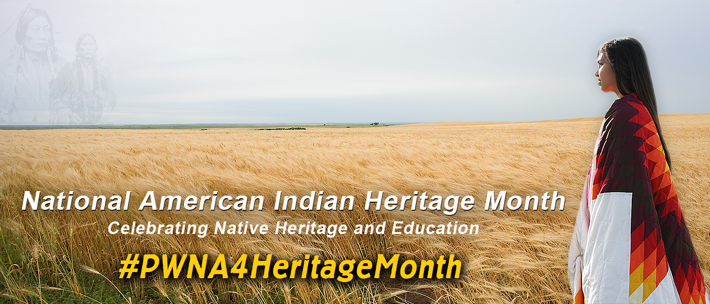 Celebrate National American Indian Heritage Month 2017...