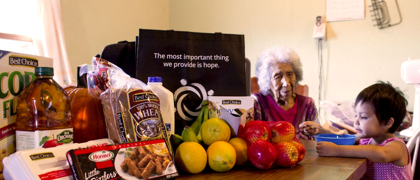 Donate today and help elders like Delores receive the nutrition they need.