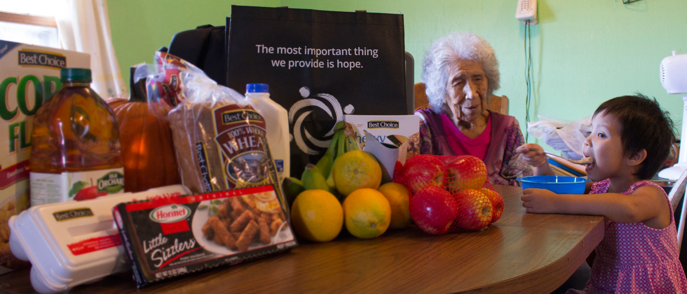 Help provide a Native Elder like Delores with Breakfast-In-The-Bag.