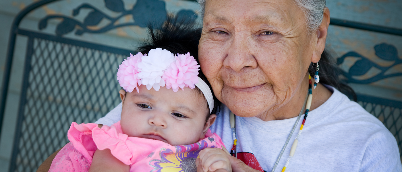 Support Elders and children year-round - make a monthly gift