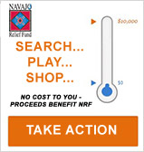 Shop, Search, Save - through Benefit Bar - proceeds benefit NRF
