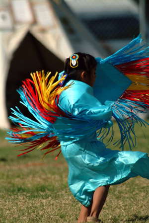 Young Native Dancer