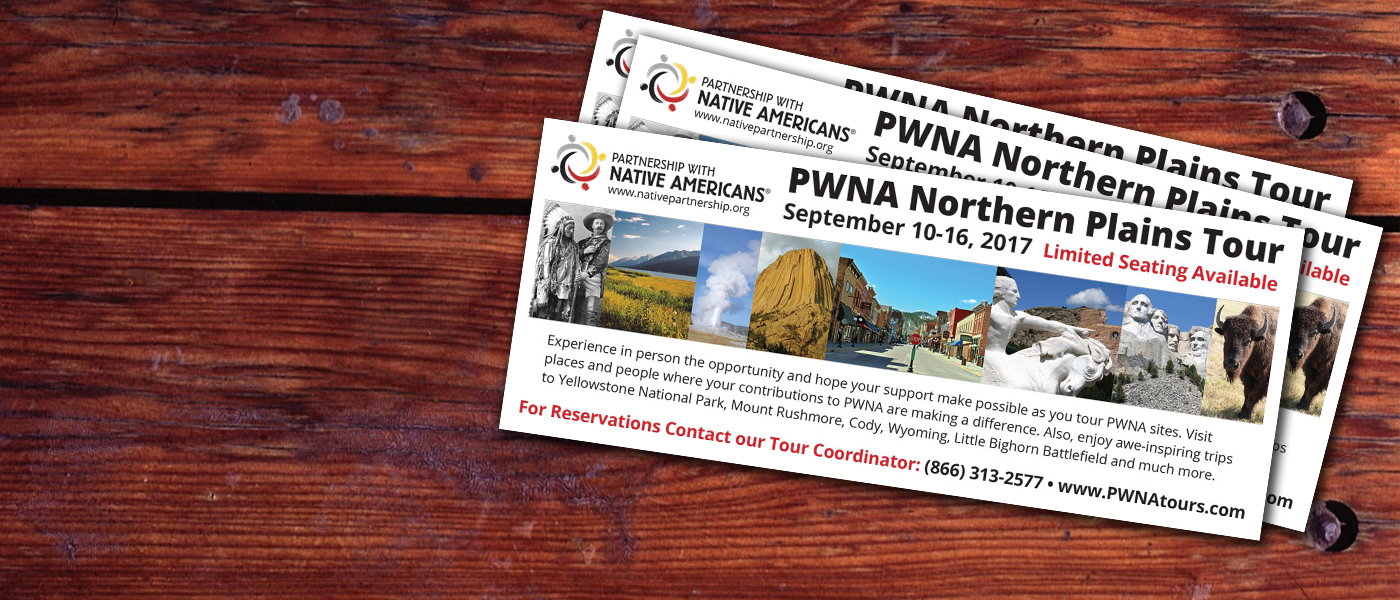 Sign up for Northern Plains Tour