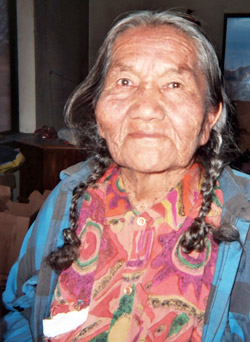 Native American Elder.