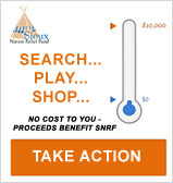 Shop, Search, Save - through Benefit Bar - proceeds benefit SNRF