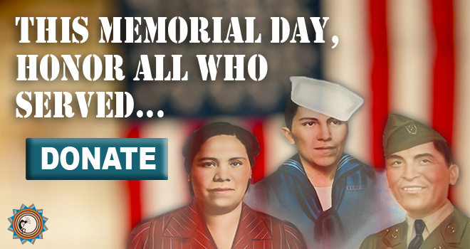 Honor Native Veterans... donate today