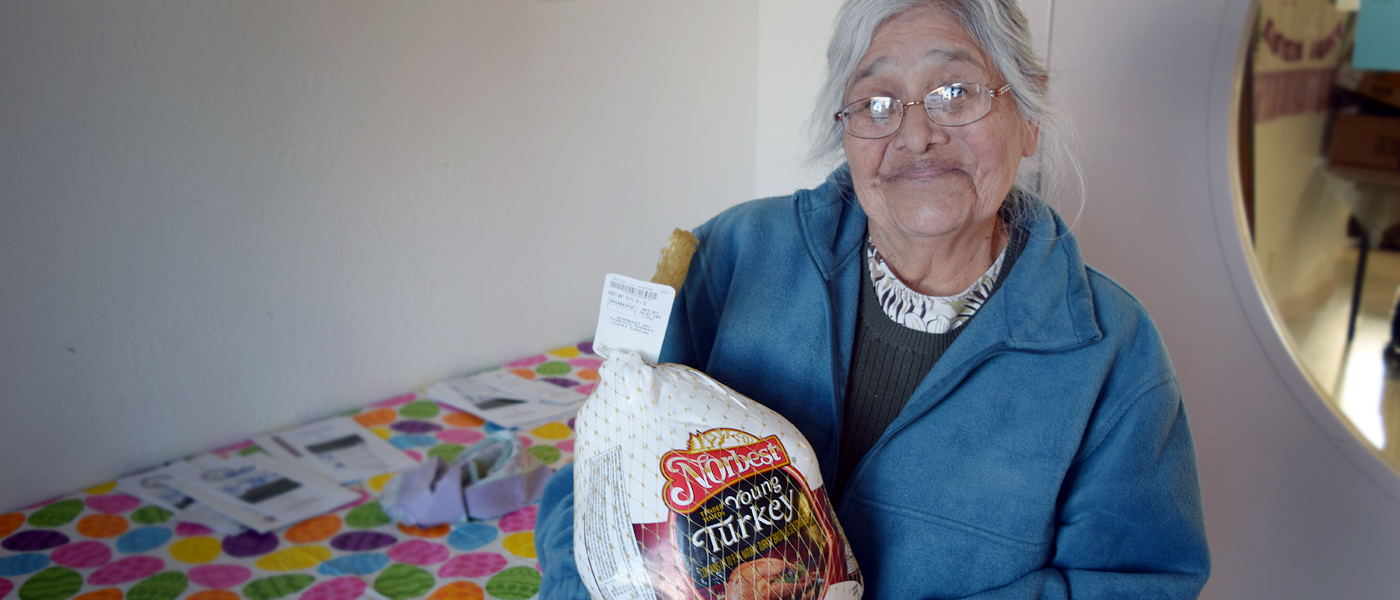 Help an Elder in need this Thanksgiving!
