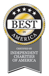Best of American | Certified by Independent Charities of America (ICA) | Click to read standards