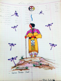 Ledger Art - Nation Becomes Great